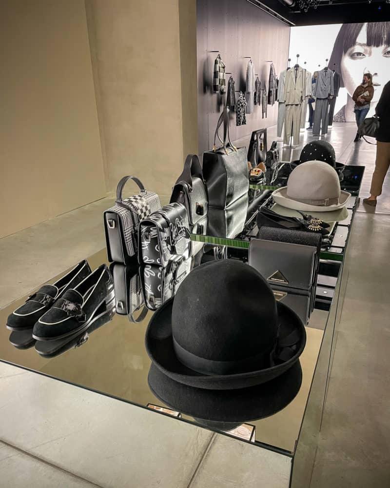 Emporio Armani accessories at Armani/Silos, Milan.