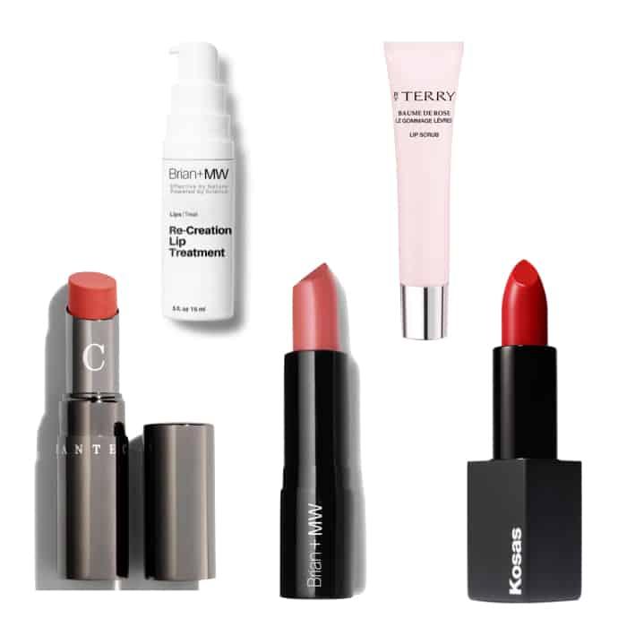 Susan B's favorite moisturizing lip treatments & lipsticks.