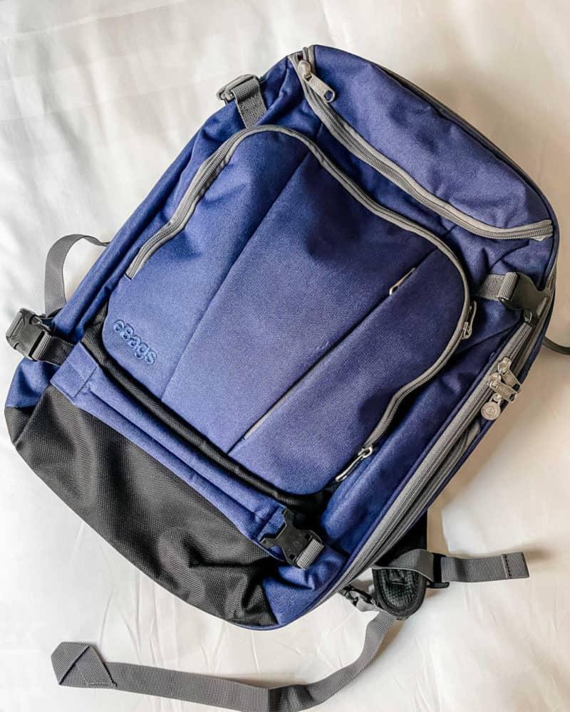 ebags Mother Lode Jr. backpack top